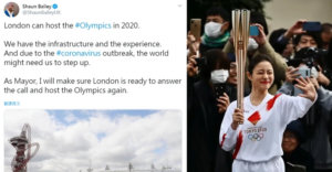 伦敦市长参选人想接手东京奥运网酸:先把钻石公主号开回去