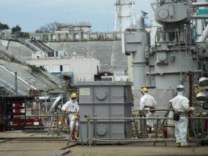 福岛核电站遭过量辐射的作业人员呼吁改善工作环境