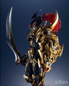 《游戏王》混沌战士大尺寸手办 精美战甲帅气逼人