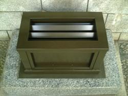 横格子型からくり賽銭箱