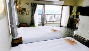 「Hotel Sunset American」:美式极简海景公寓