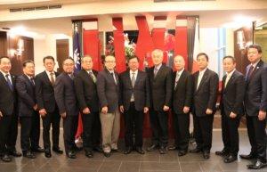 日本成田市长小泉一成率团访桃园交流机场经济学