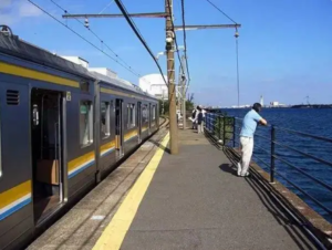 神奈川县:海芝浦站