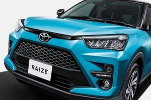 和泰真的不考虑?Toyota Raize交付首月就冲上日本乘用车销售冠军