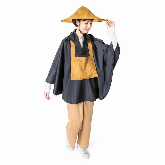 雨の日が徳のある日になるような「なりきり僧侶スタイル 僧衣レインポンチョ」【連載:アキラの着目】