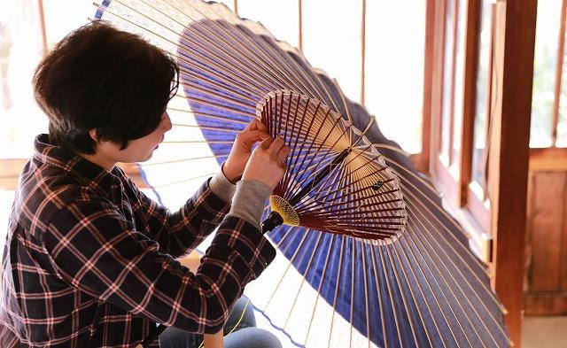 岐阜和傘の糸かがり 長良川めぐるツアーズ – 清流・長良川から生まれた町を、体感する旅 から引用