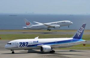 全日空和日航6日起削减日本国内航班数量