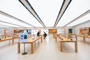 苹果直营店拼4月重新开张
