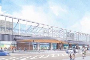新长崎站舍公开 将成为可感受自然的门户