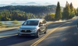 本田突曝光美规Odyssey小改款4月纽约车展将发表
