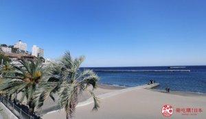 热海的经典代表景色「阳光海滩」