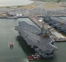 美航舰雷根号2人确诊横须贺母港封锁