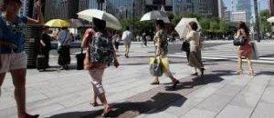 日本7月起试运行防中暑警报 奥运期间提醒注意