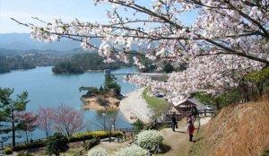日本最大的农业用蓄水池「满浓池」