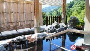 如化妆水般极润的「蓬平温泉和泉屋」