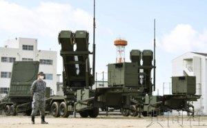 """空自在伊丹展示""""爱国者3""""拦截导弹训练"""