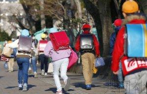 日本部分中小学时隔2周复课