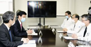 日本高官表示正协调增产呼吸机