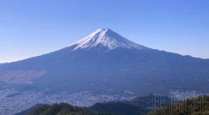 富士山防灾地图修改报告出炉 碎屑流或致道路不通