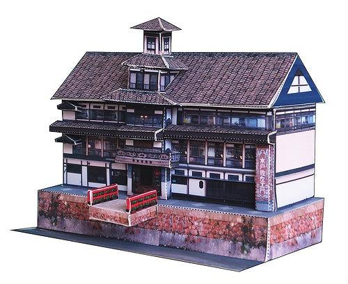 レトロな建物や街並みを精密に再現、「旅とクラフト」のペーパークラフト【連載:アキラの着目】