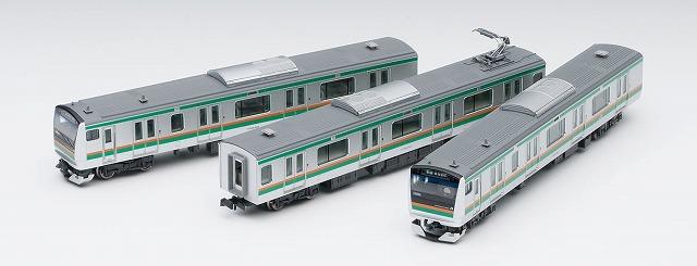 車載カメラシステムセット(E233-3000系)<5594> ¥22,000(税抜) TOMIX 公式サイトから引用