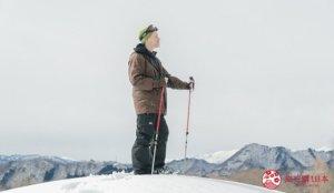 「高杖滑雪场」雪地健行