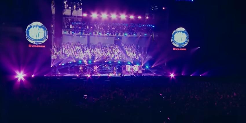 传奇摇滚乐团B'z超珍贵Live影像到最新演唱会都免费看得到!