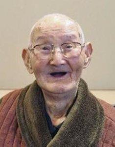 日本最高龄男性巴一作去世 享年110岁