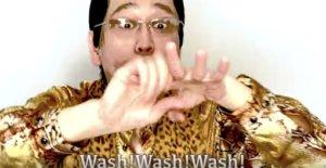 洗脑PPAP又来了!苹果凤梨变洗手…为防疫重新改编歌词