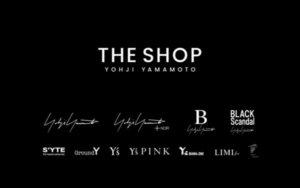 THE SHOP YOHJI YAMAMOTO将会推出与发售山本耀司品牌和副线产品