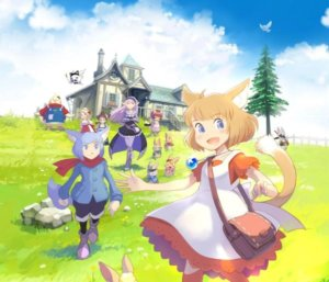 《吉拉夫与安妮卡》家机版发售日决定,猫耳少女的奇幻冒险即将展开