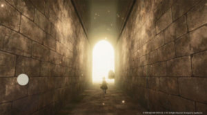 《NieR Re[in]carnation》新实机展示公开,与少女一起在巨大遗迹中探索冒险