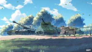 《战车世界:闪击战》推出全新《少女与战车》系列收藏版战车,「突击行动」活动同步登场