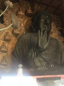 日本奈良东大寺本殿限制参观奈良大佛改当「直播主」