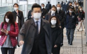 紧急宣言后首个周日东京主要车站人流量减6~8成
