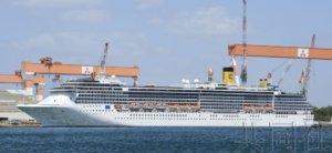 """""""歌诗达大西洋""""号游轮33名船员确诊感染新冠"""