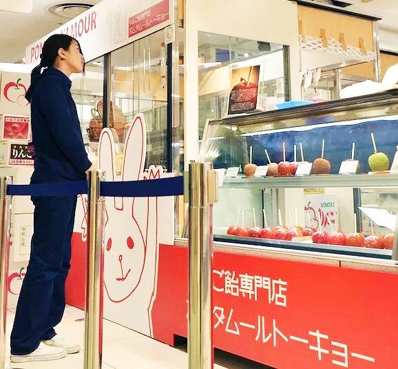 日本初りんご飴専門店・ポムダムールトーキョー ポムダムールトーキョー公式HPから引用