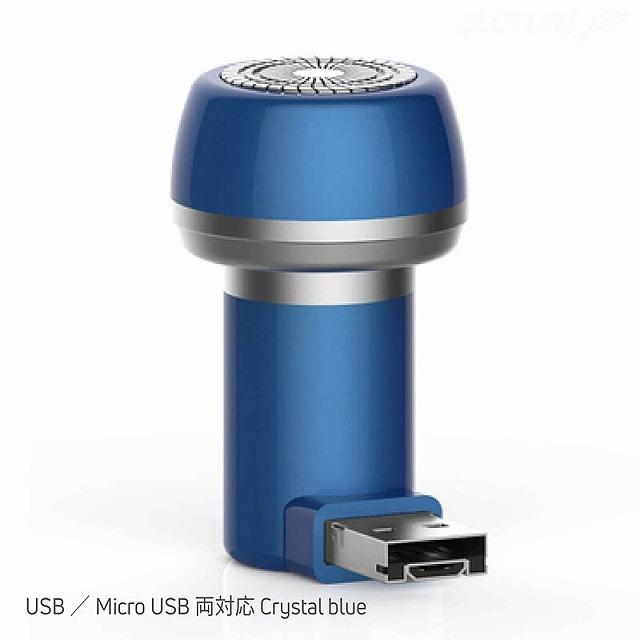 Micro USBとUSB-Aの両用に切替え可能な「Micro USB/USB 両対応モデル」 GLOTURE.JPサイトから引用