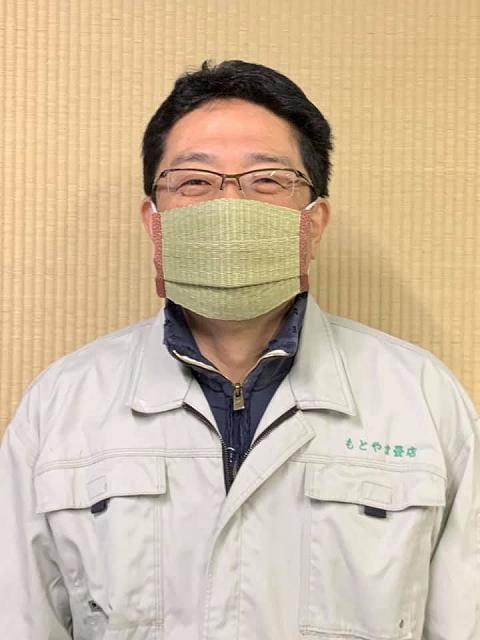 新型コロナウイルスに京都老舗畳店・もとやま畳店の「畳マスク」【連載:アキラの着目】