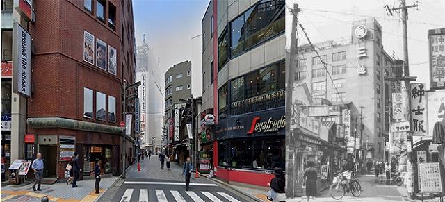 新宿ビックロ裏の今昔