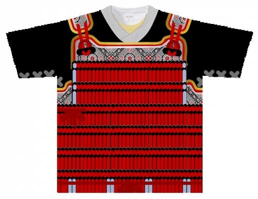 小札・絲など細部の表現にまでこだわった鎧風Tシャツ【連載:アキラの着目】