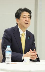 追踪安倍晋三首相(22日)