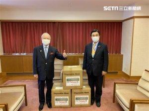 台赠神户大阪1万枚口罩日官员致谢:最好的朋友!