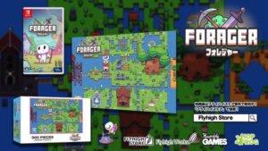 《Forager》无止尽生存动作冒险人气下载游戏实体包装版推出决定