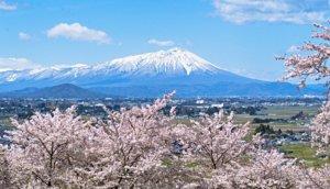 「南部富士」:岩手县岩手山