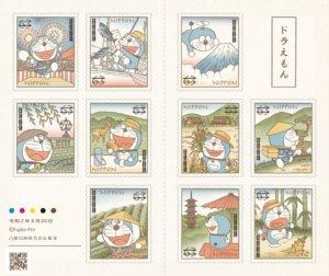 欢庆50周年纪念!日本邮局限量哆啦A梦邮票登场