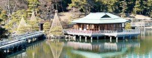汐留/「中岛の御茶屋」:庭园中的一隅宁静