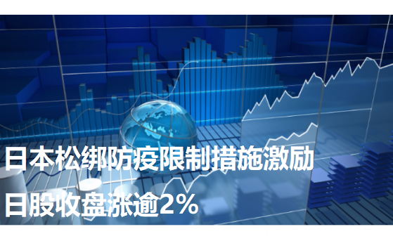 日本松绑防疫限制措施激励日股收盘涨逾2%