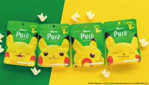 皮卡皮卡超软Q!Pure水果软糖「电击热带皮卡」口味六月新上市!
