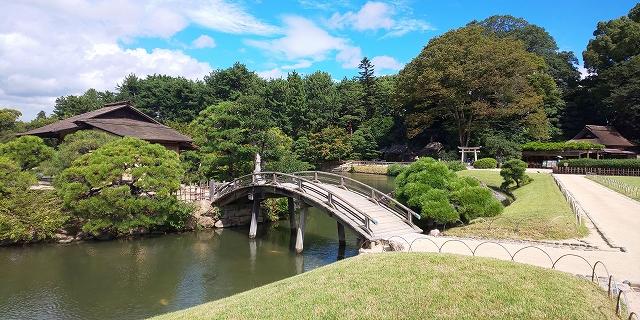 日本三大庭園の後楽園
